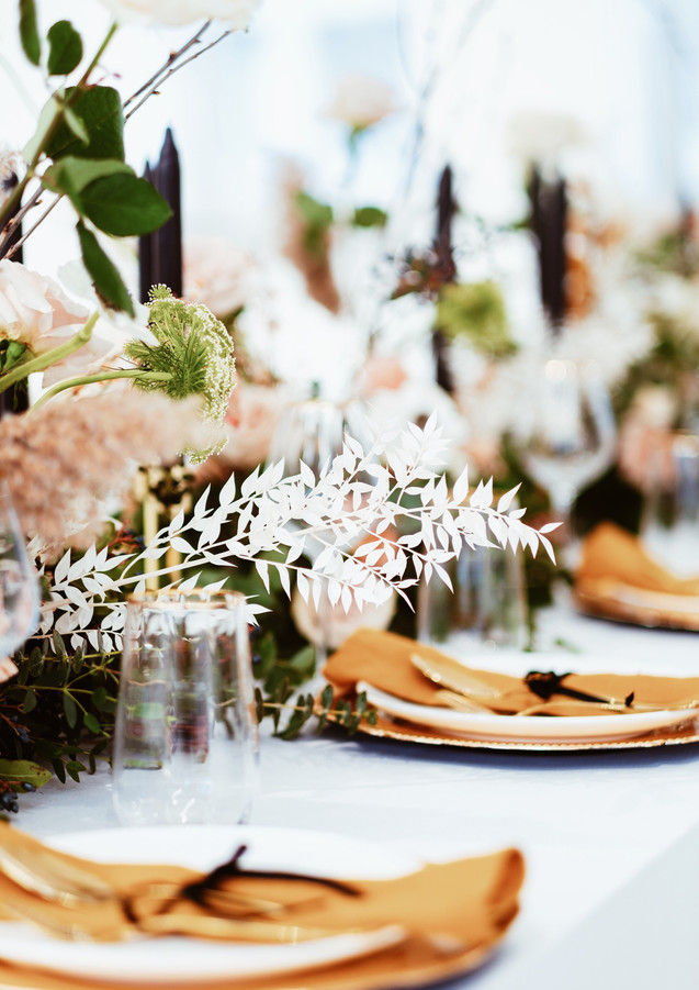 Wedding tablescape by ATB