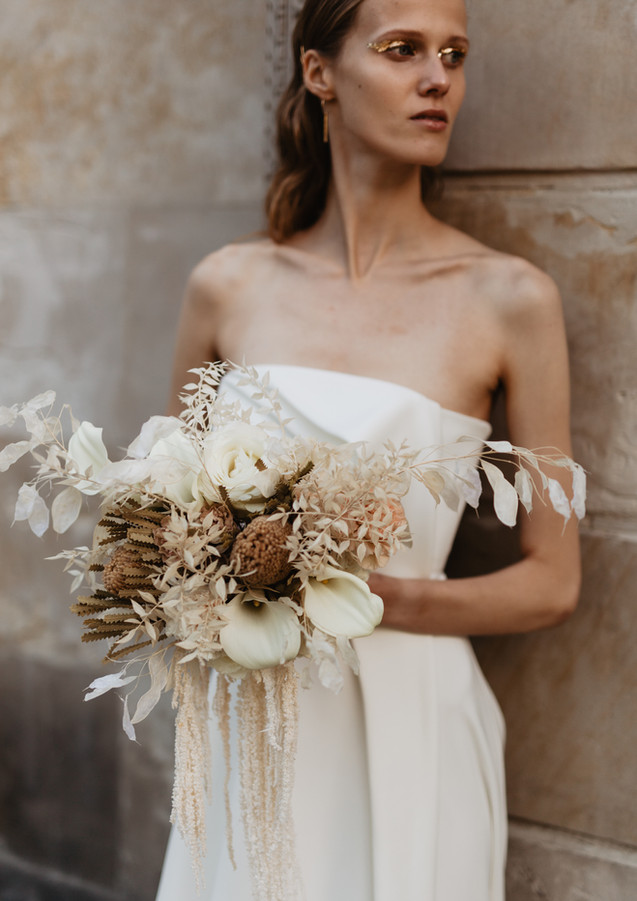 Bridal bouquet by Cuda Kwiatki