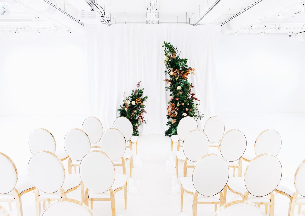Loft Wedding Ceremony