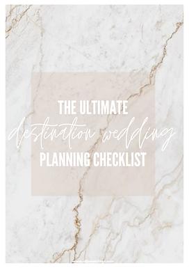 The ultimate destination wedding plannin