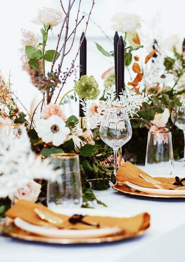 Loft Wedding table decor