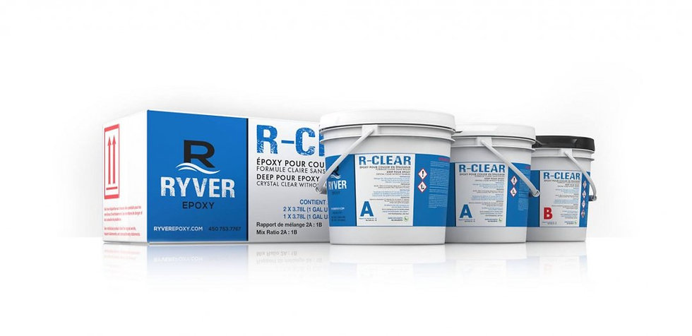 R-CLEAR 3 gallons