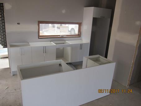 3 units kitchen and laundry finish in Moorabbin