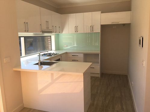 Polyurethane Gloss White Kitchen Cabinet Module No 23999