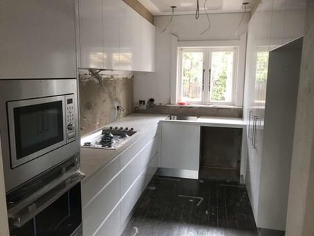 Shadow line kitchen cabinet doors now in display