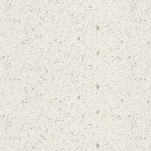2700x600 20mm Snow White Engineered Quartz Stone Kitchen Benchtop