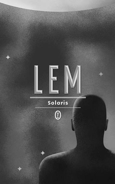 """Okładka książki """"Solaris"""" S. Lema."""
