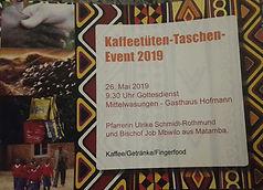 Kaffeetüten-Taschen-Event