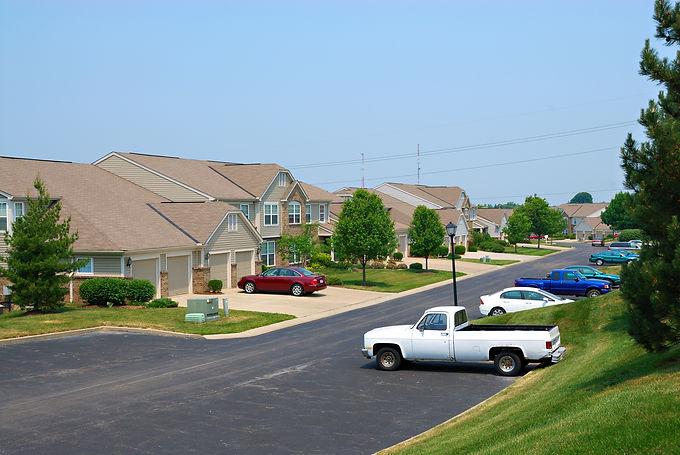 Residential condominium homes in an upsc