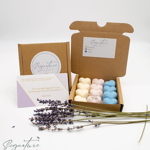 MIND Scented Soy Wax Melts Hearts