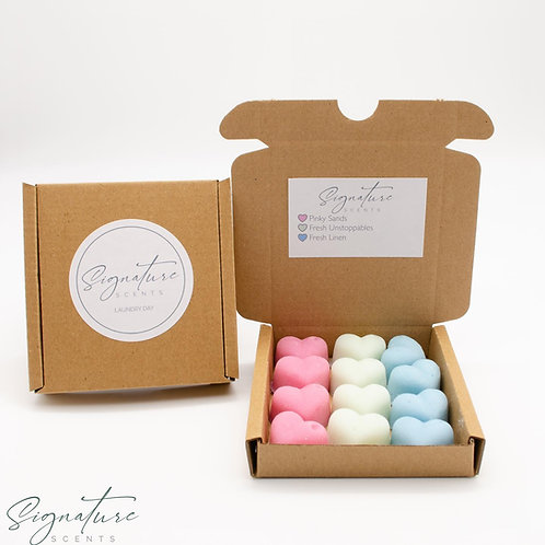 Laundry Day Scented Soy Wax Melts 90g Small Gift Box