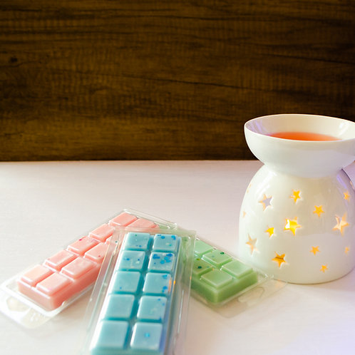 Laundry Day Scented Soy Wax Melt Snap Bars x3