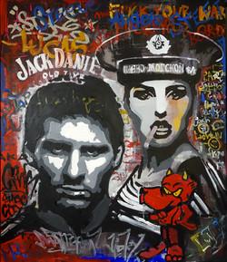 Leo Messi Street Art