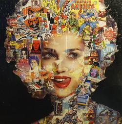 Pop Art Face 1