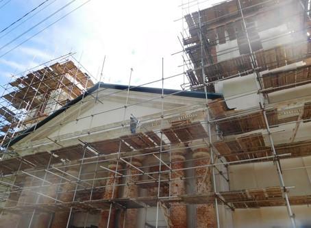 Восстановление Знаменского храма. Фотоотчет. Май 2019