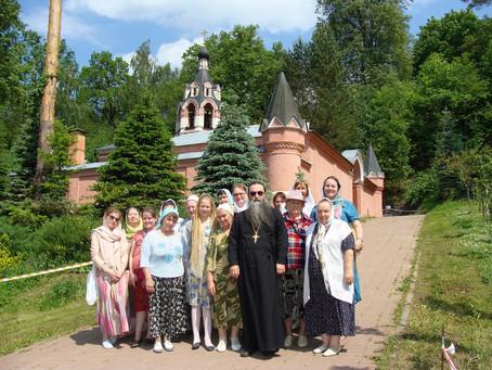 Паломническая поездка Никольского храма с. Тишково
