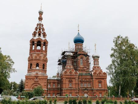 Архиерейское богослужение в Покровском храме п. Черкизово