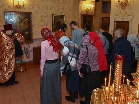 Празднование Собора новомучеников и исповедников Церкви Русской. Всенощное бдение.