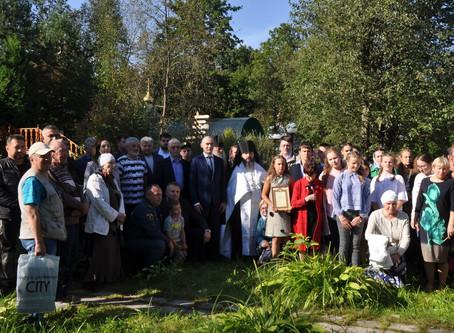Акция, посвященная Дню памяти жертв терроризма «Скорбный Беслан» в деревне Мураново