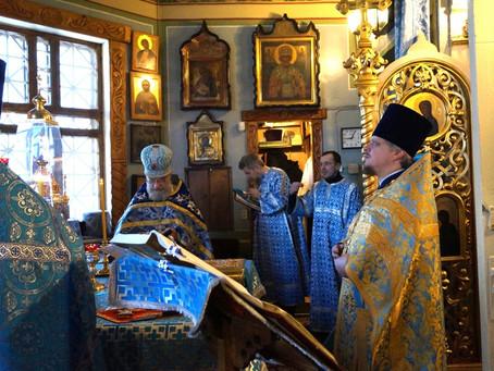 Престольный праздник в Сретенском храме мкр. Новая Деревня