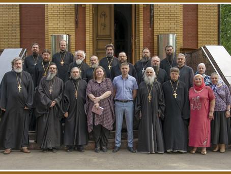 Выездное заседание Координационного совета Московской епархии