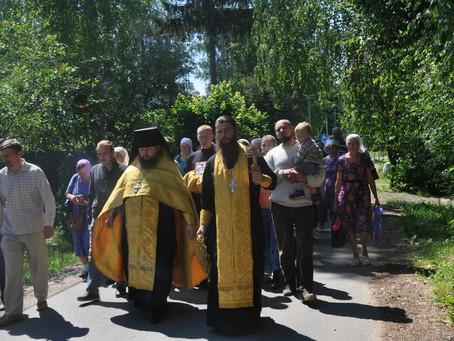 Подмосковный крестный ход в память о теракте в Будённовске