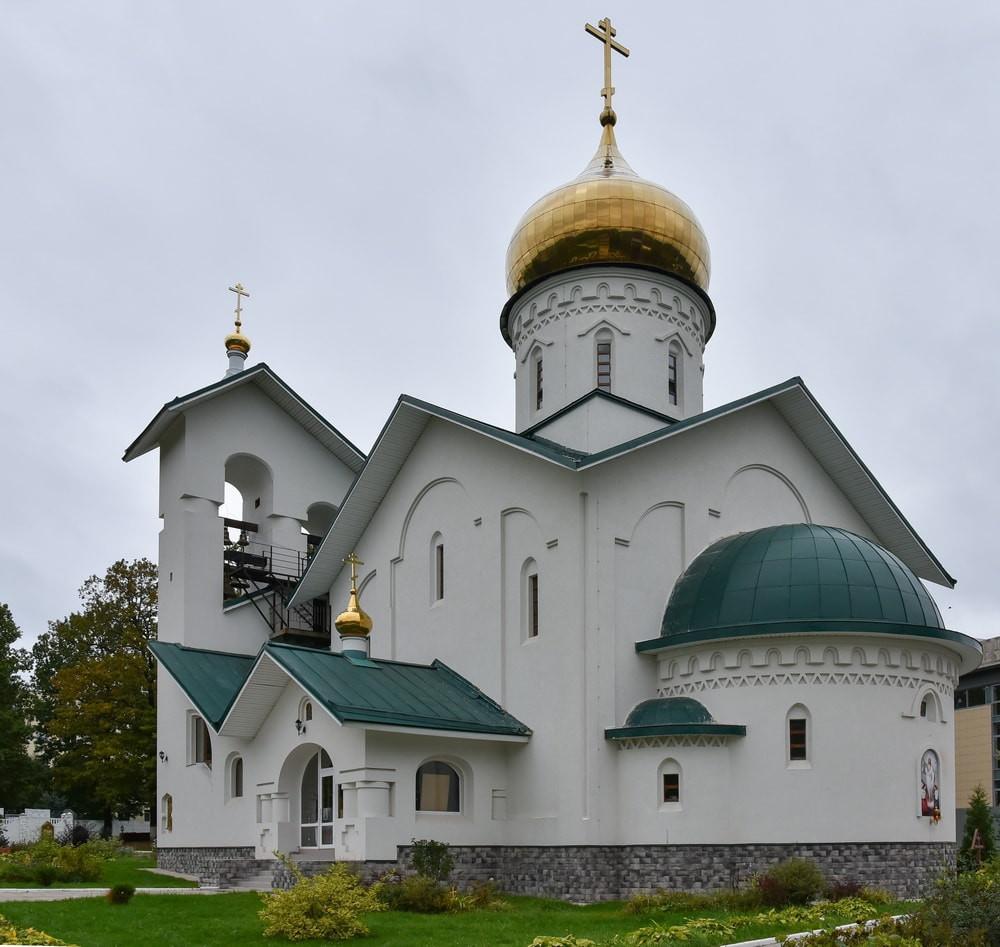 Храм Александра Невского Ашукино