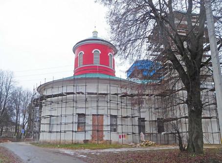 Восстановление Знаменского храма. Фотоотчет. Ноябрь