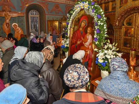 """Празднование иконы Божией Матери """"Скоропослушница"""" и собрание духовенства в Троицком храме"""