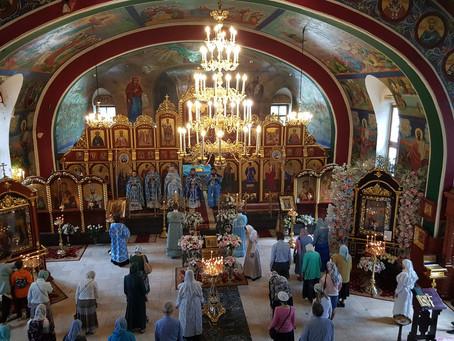 Престольный праздник в Боголюбском храме г. Пушкино