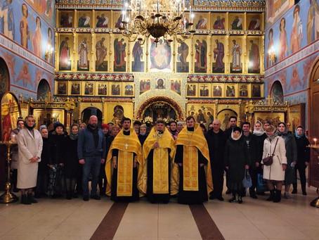 Начало занятий библейско-богословских курсов при Троицком храме г. Пушкино