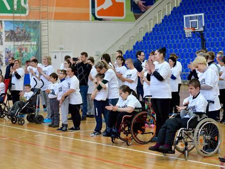 Открытие спортивной секции восточных единоборств для детей с ограниченными возможностями здоровья в