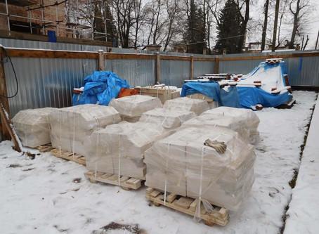 Фотоотчет восстановительных работ Знаменского храма с. Ивановское