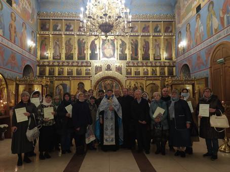 Вручение дипломов выпускникам библейско-богословских курсов