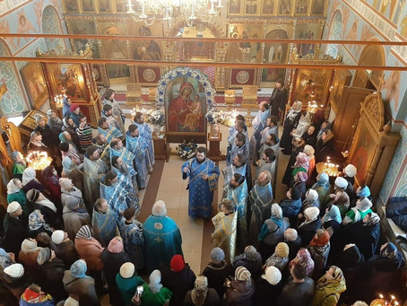 """Празднование иконы Божией Матери """"Скоропослушница"""" и пастырский семинар"""