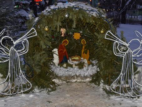 Рождество Христово в Троицком храме г. Пушкино. Фотоотчет