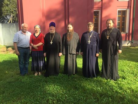 Рабочая встреча по восстановлению Знаменского храма с. Ивановского Волоколамского благочиния