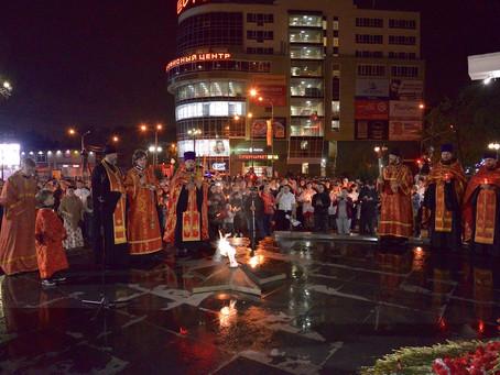 День Победы в Пушкинском благочинии