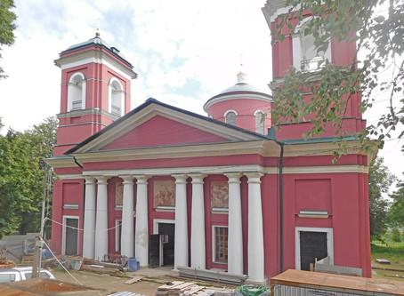 Рабочая встреча по восстановлению Знаменского храма села Ивановского Волоколамского благочиния