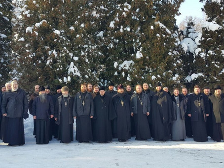 Собрание духовенства Пушкинского благочиния
