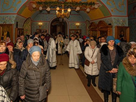 Крещение Господне в Троицком храме г. Пушкино. Фотоотчет часть 1