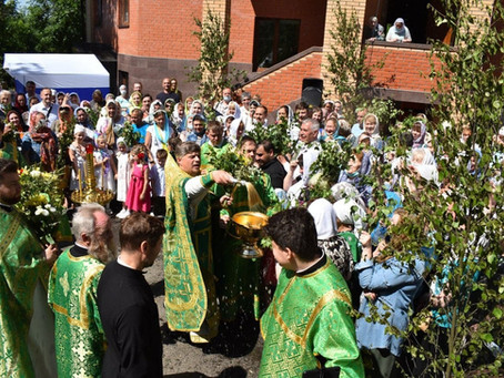 Престольный праздник в Троицком храме Пушкино