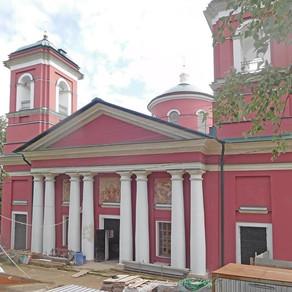Восстановление Знаменского храма с. Ивановское Волоколамского р-на. Ноябрь 2020