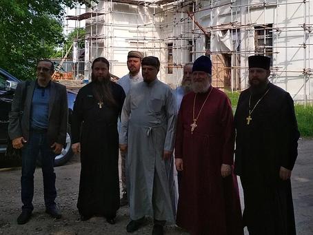 Рабочее совещание по восстановлению Знаменского храма с. Ивановское Волоколамского р-на