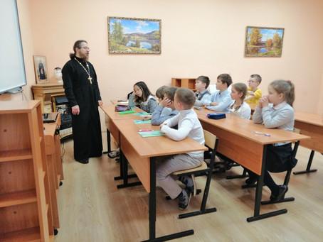 Открытый урок по предмету Основы Православной культуры в Международном лицее дер. Костино
