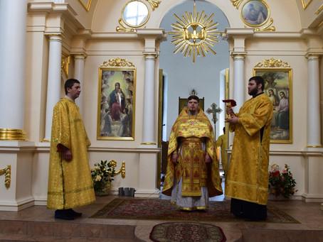 Празднование Дня памяти пророка Божия Илии в с. Ельдигино