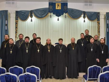 Собрание ответственных по различным направлениям церковной деятельности в Пушкинском благочинии