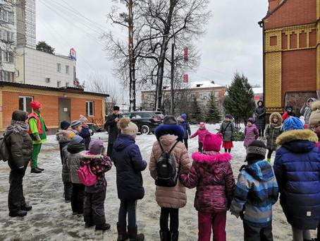 Праздник для воспитанников Воскресной школы при Троицком храме