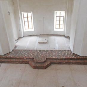 Восстановление Знаменского храма с. Ивановское Волоколамского р-на. Август часть 2