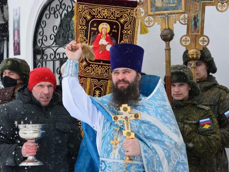 Престольный праздник в храме Державной иконы Божией Матери в гарнизоне «Софрино-1»